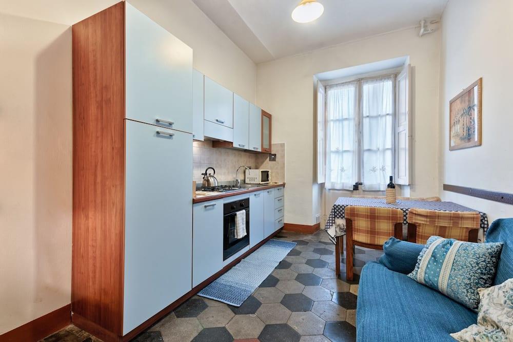 Апартаменты, 2 спальни, для некурящих - Зона гостиной