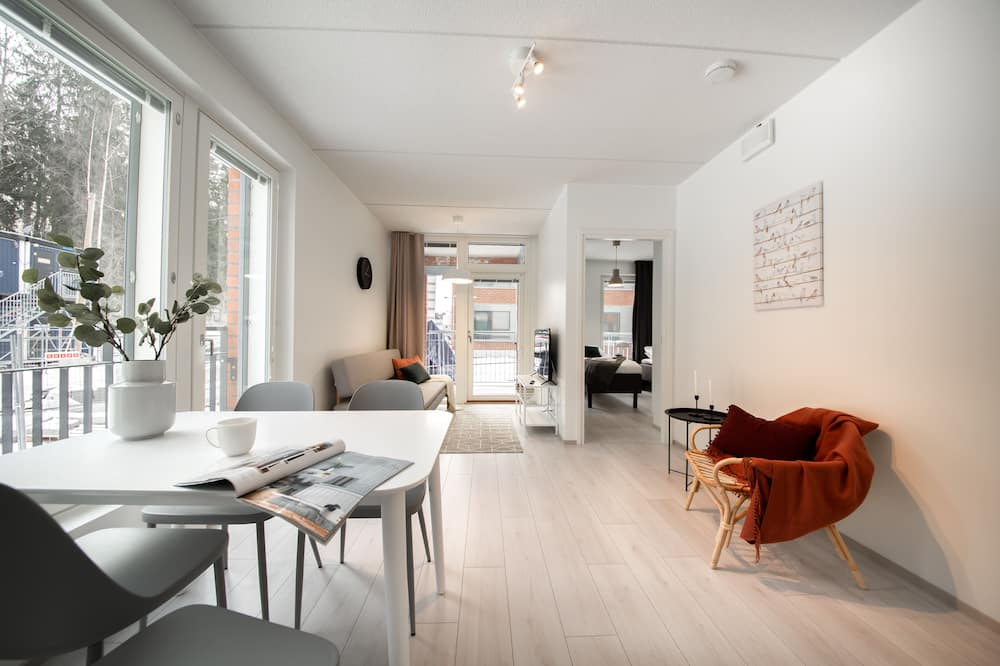Two Room Apartment - Living Area