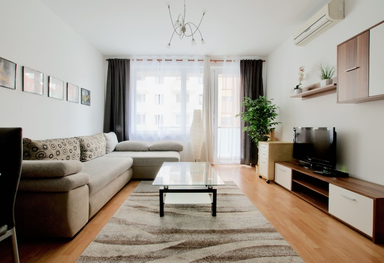 Standard Apartment by Hi5 - Corvin Distr, Budapeszt, Apartament standardowy, Salon