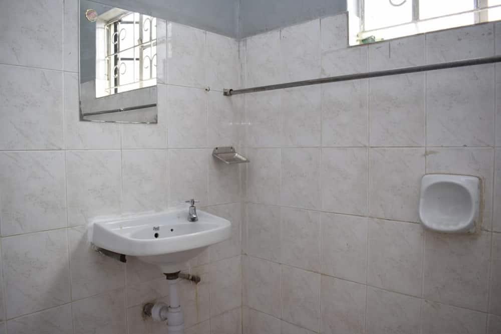Dvivietis kambarys (2 viengulės lovos) - Vonios kambario kriauklė