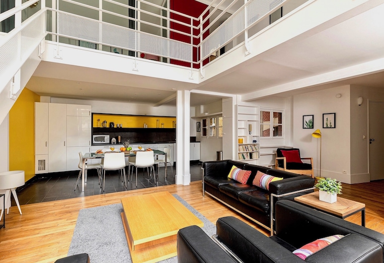 Montparnasse - Pasteur Apartment, Paryż, Apartament typu City, Powierzchnia mieszkalna
