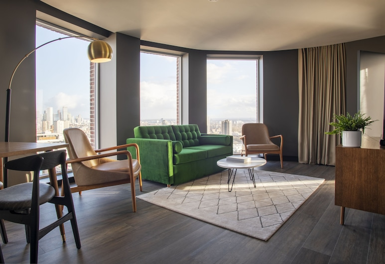 The Gate, London, Royal-Apartment (Skyline Penthouse), Wohnbereich
