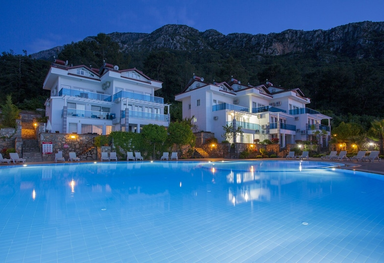 Royal Hills D3 Apartments, Fethiye, Buitenzwembad