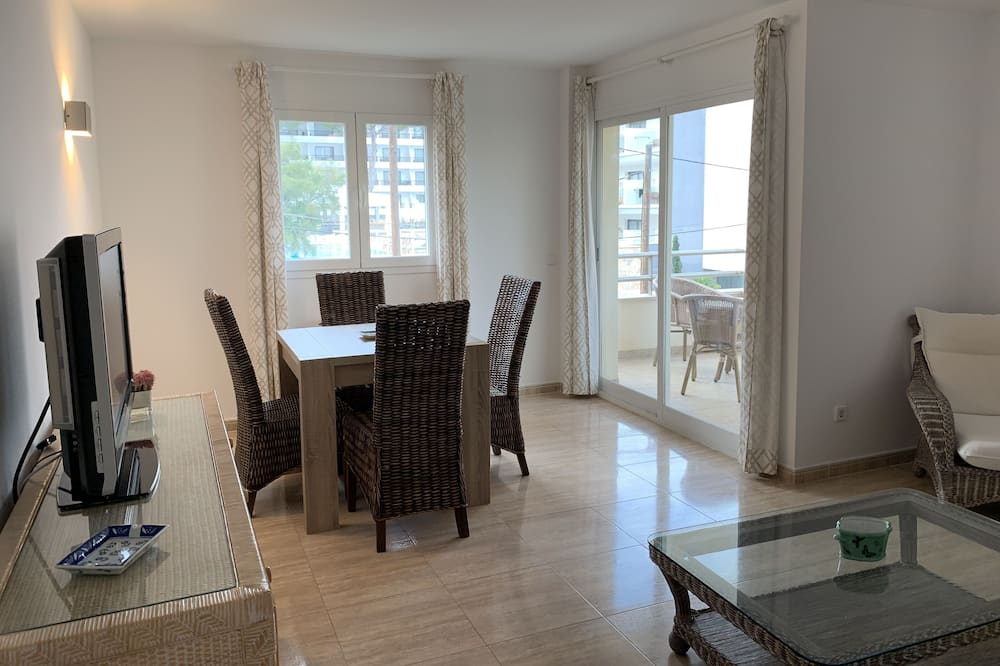 Appartement, 2 slaapkamers (1A) - Woonkamer