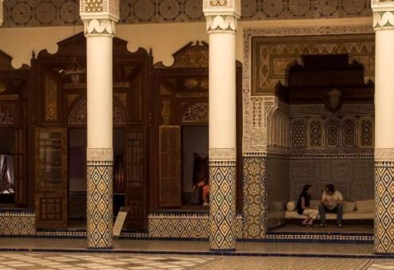 達爾馬哈巴酒店, 馬拉喀什, 大堂