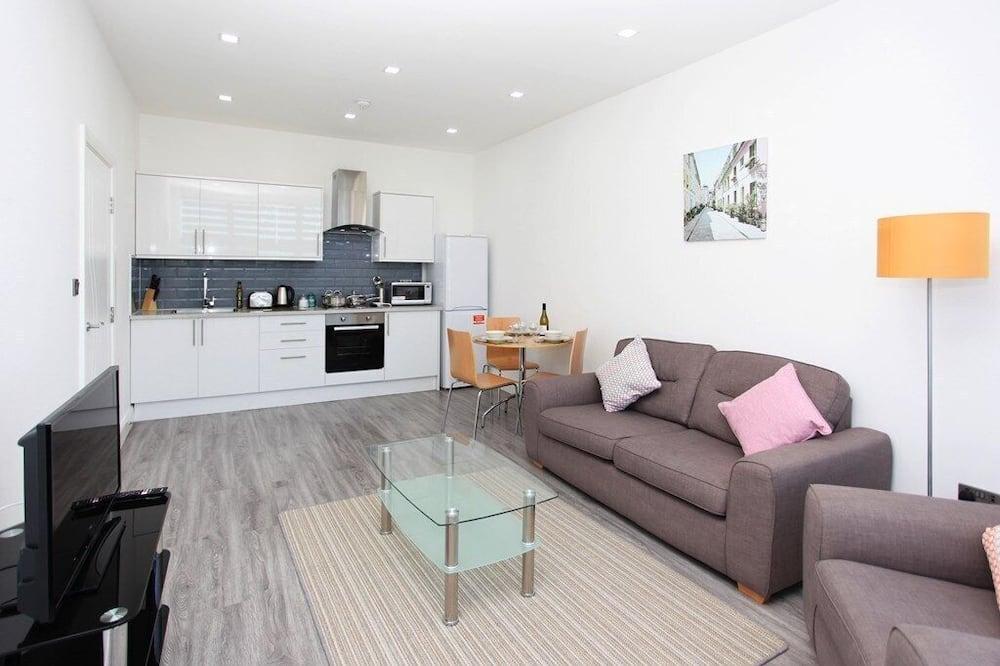 Apartmán typu Basic, 1 spálňa - Obývačka