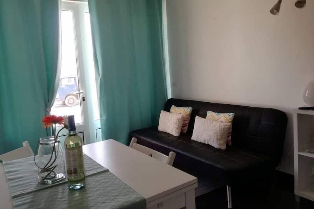 Апартаменти, 1 спальня, тераса - Обіди в номері