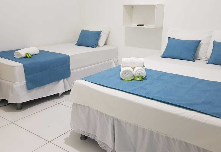 Pousada Mar Verde, Maceio, Triple Room, Bilik Tamu