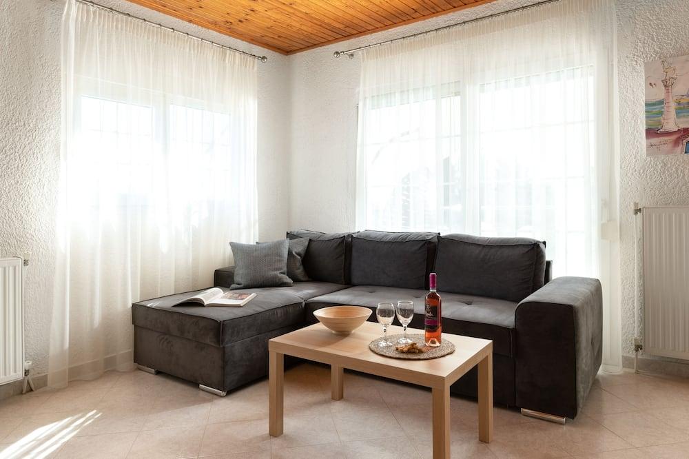 Семейная вилла, 2 спальни - Зона гостиной