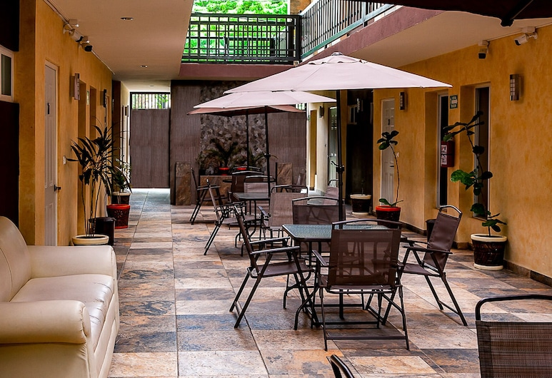 Hotel Huaxteca Inn, Сьюдад-Валлес, Тераса/внутрішній дворик