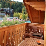 Comfort külaliskorter, 2 magamistoaga, vaade mägedele (2, incl. EUR 40 Cleaning fee) - Rõdu