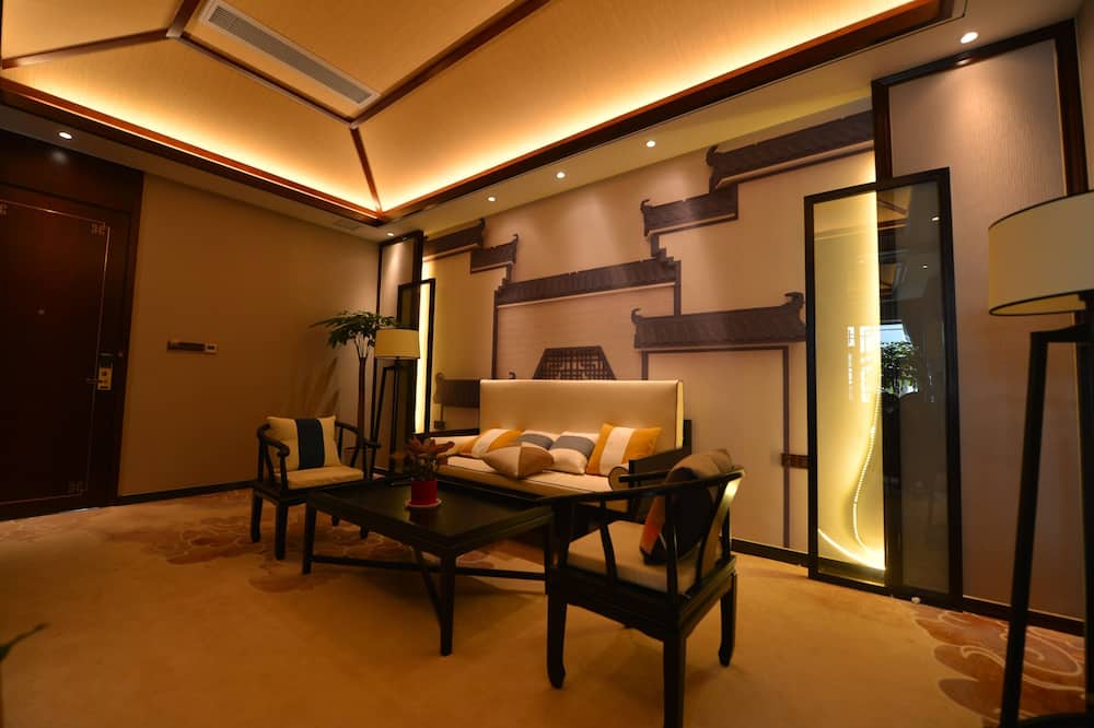 Suite de diseño - Sala de estar