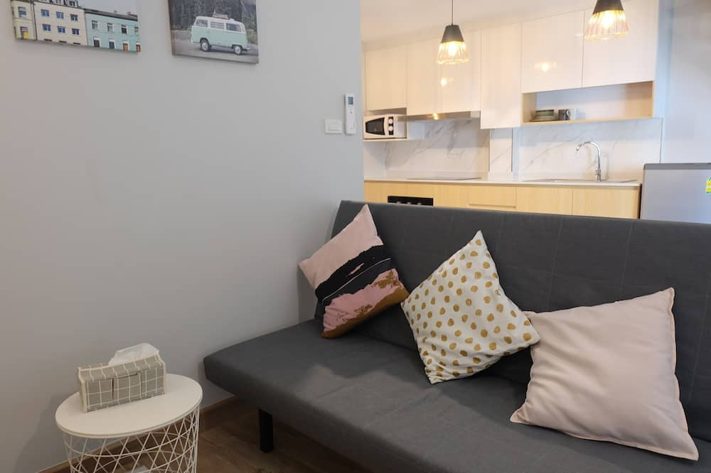 Duplex Room with Rooftop - Living Area