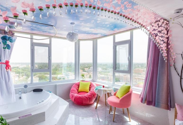 Floral Hotel Jiu Qi Yin Ju Dunhuang, Jiuquan, Doppia luna di miele, Camera