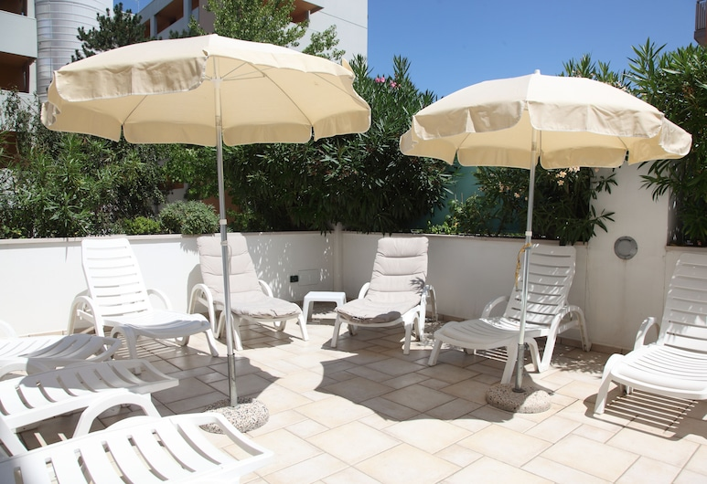 Hotel Gran Venere Beach, San Michele al Tagliamento, Zonneterras
