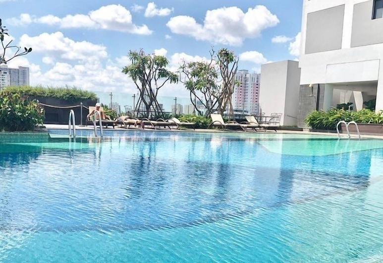 SAIGON 9 - Rivergate Residence Infinity Pool-Gym, Ho Chi Minh City, Piscina Transbordante
