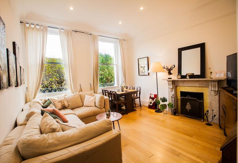 肯辛頓豪華住宅酒店, 倫敦, 公寓, 客廳