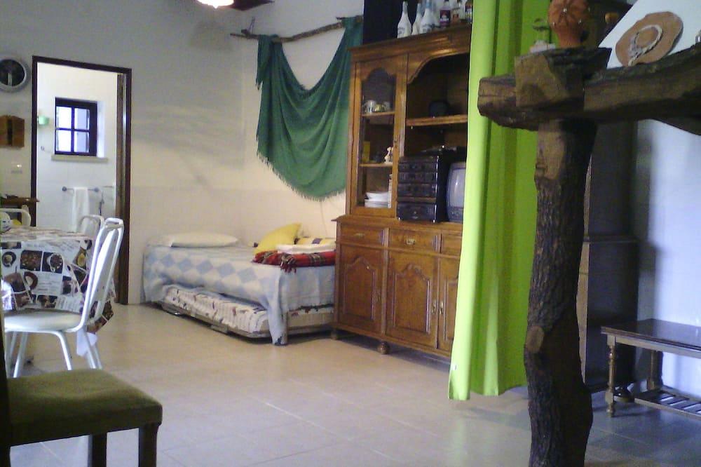 Házikó, 1 hálószobával - Nappali rész