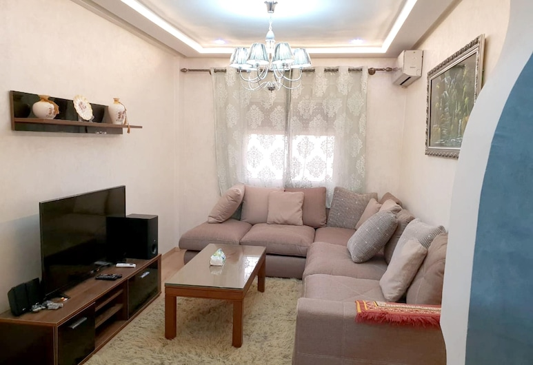 Apartment With 2 Bedrooms in Meknes, With Wonderful City View, Furnished Garden and Wifi - 140 km From the Beach, Meknes