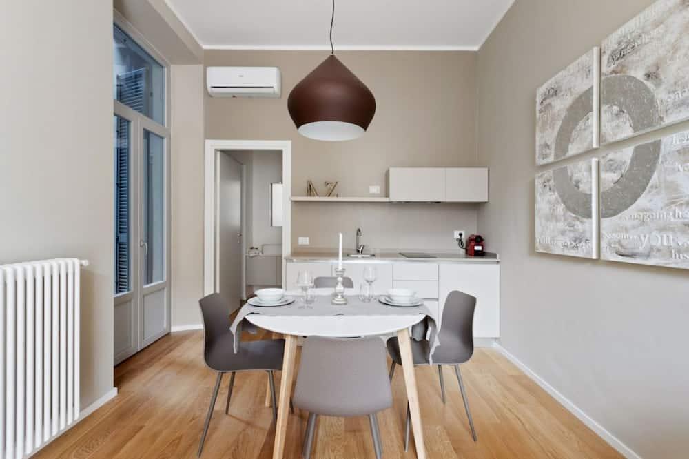 Апартаменты - Обед в номере