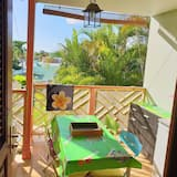 Studio in Sainte-anne, With Furnished Terrace