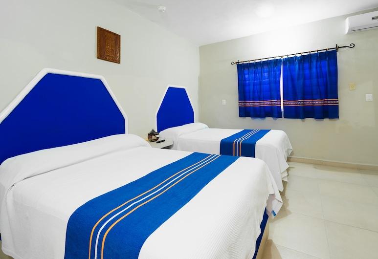 Hotel Yum K'iin, Playa del Carmen, Basic Double or Twin Room, Guest Room