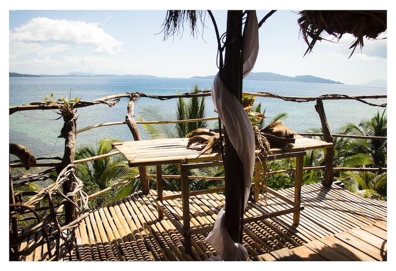 Private Island Villa Getaway, Basilisa, Balkon