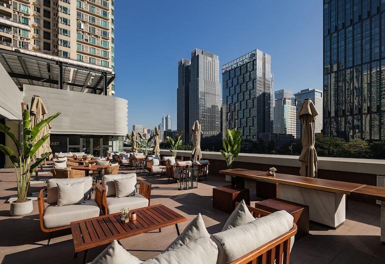 Amber East Hotel, Guangzhou, Teres/Laman Dalam