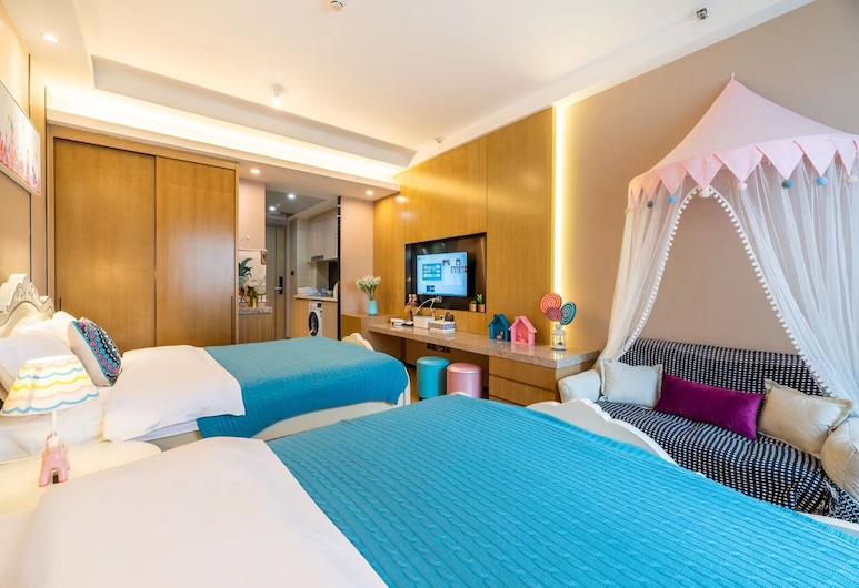 Guangzhou Xiwuju Service Apartment, Guangzhou, Twin Room, Bilik