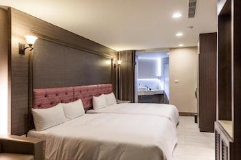 台南、メイプル ホテル セカンド ブランチ (沐月二館 (喬麗大飯店))の写真