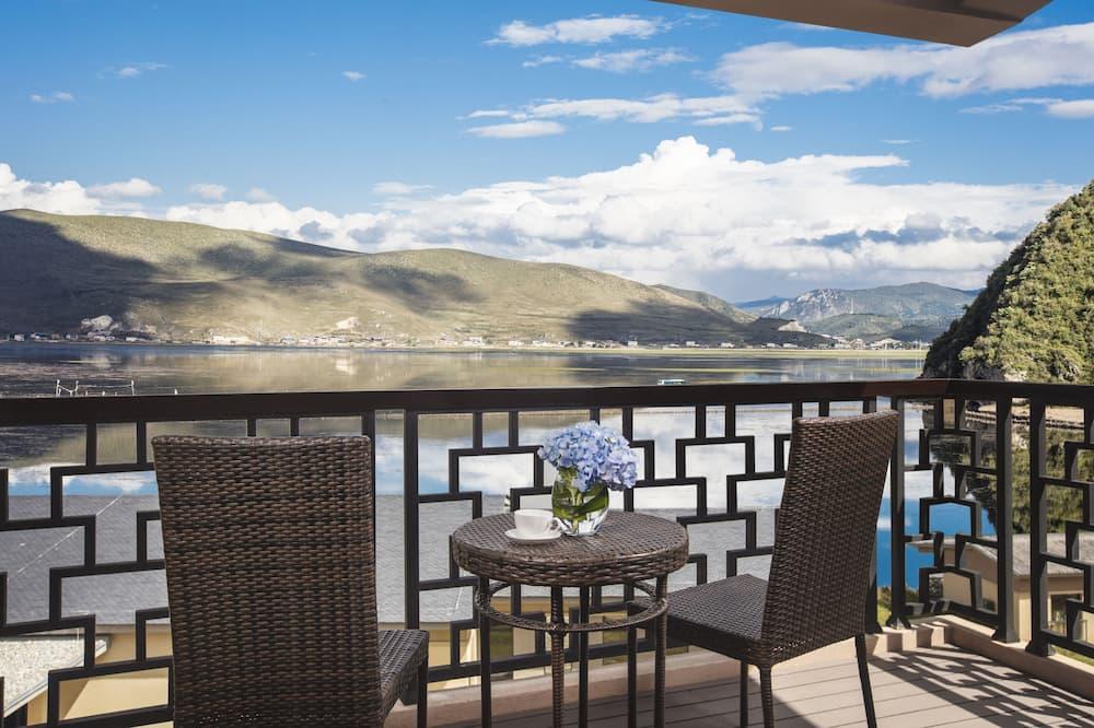 Grand vila, 2 spavaće sobe, pogled na jezero - Balkon