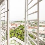 Superior-Vierbettzimmer - Blick vom Balkon