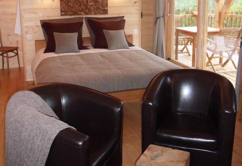 Cabane d'hôtes avec Spa Aura Cabana, Saint-Andre-d'Olerargues, Tree House, Guest Room