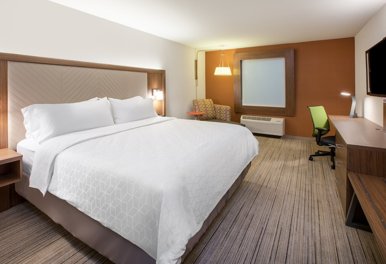 Holiday Inn Express And Suites West Omaha - Elkhorn, Elkhorn, Suite, 1 King Bed, Accessible, Non Smoking (Roll-In Shower), Guest Room