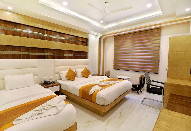 約克遺產酒店, 新德里, 豪華三人房, 客房