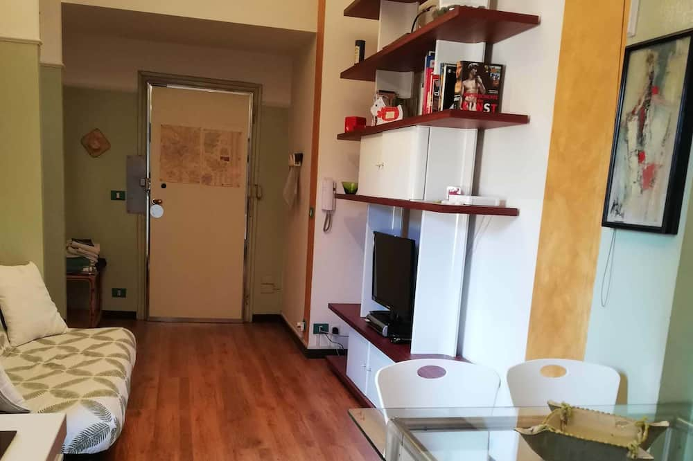 Apart Daire, 1 Yatak Odası, Teras - Oturma Alanı