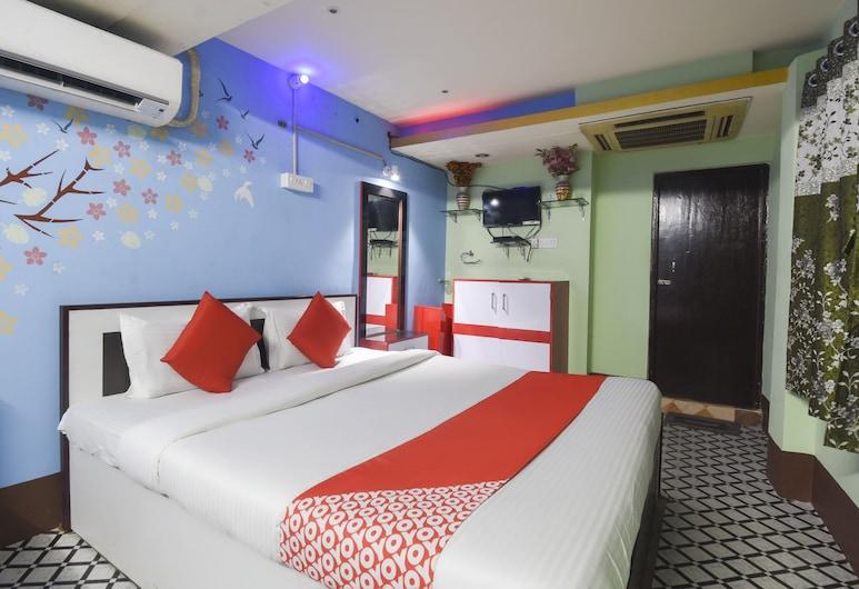OYO 60767 海豚酒店, 加尔各答, 双人房/双床房, 客房