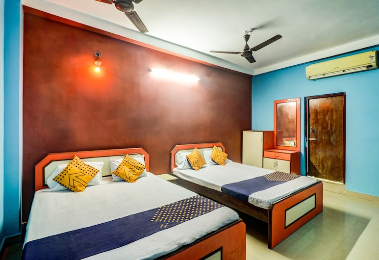 SPOT ON 49799 New Unique Beach Inn, Puri, Habitación estándar con 1 cama doble o 2 individuales, Habitación