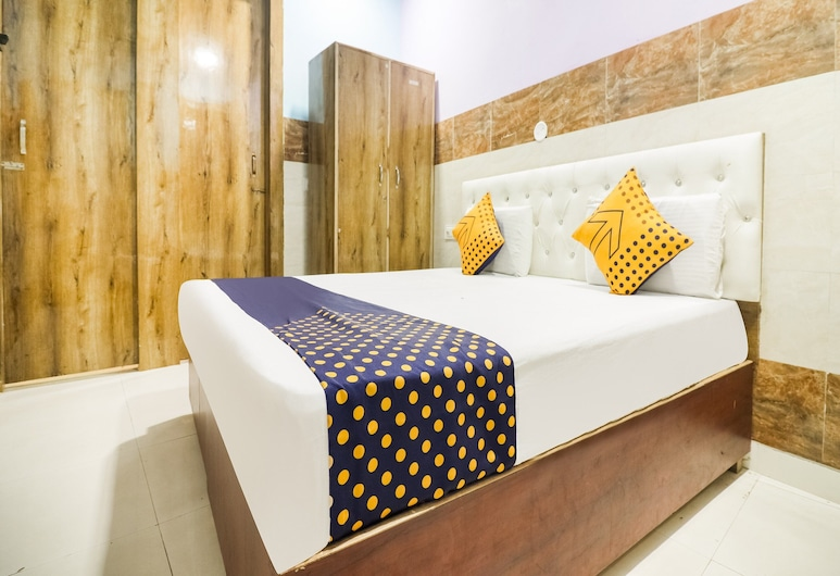 SPOT ON 62209 Yash Hotel, Hisar, Pokój dwuosobowy z 1 lub 2 łóżkami, standardowy, Pokój