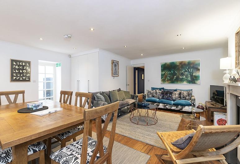 格洛斯特路附近迷人 2 房南肯辛頓公寓飯店, 倫敦, 公寓, 2 張標準雙人床 (2 Bedrooms), 客廳