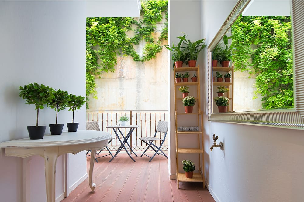 Апартаменти, з балконом (Alkyone) - Балкон