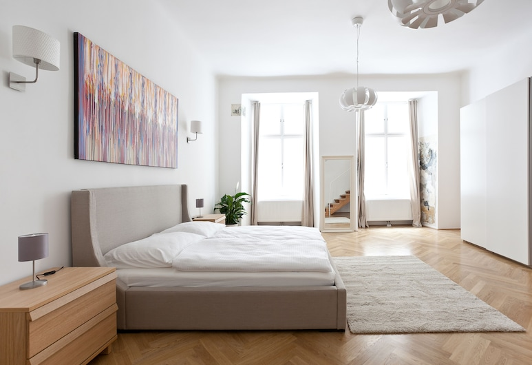 HeyMi Apartments Hoher Markt, Wenen, Deluxe appartement (10a, incl. cleaning fee 55 EUR), Interieur