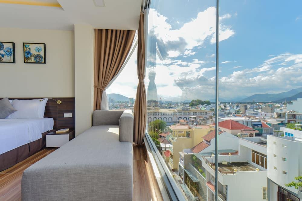 Chambre Double Deluxe, vue ville - Vue sur les montagnes