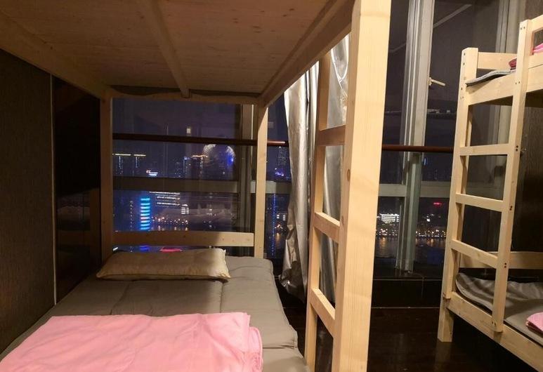 Best Cat Hostel, Kanton, Spoločná zdieľaná izba, len pre mužov, spoločná kúpeľňa, výhľad na rieku (8 pax), Hosťovská izba