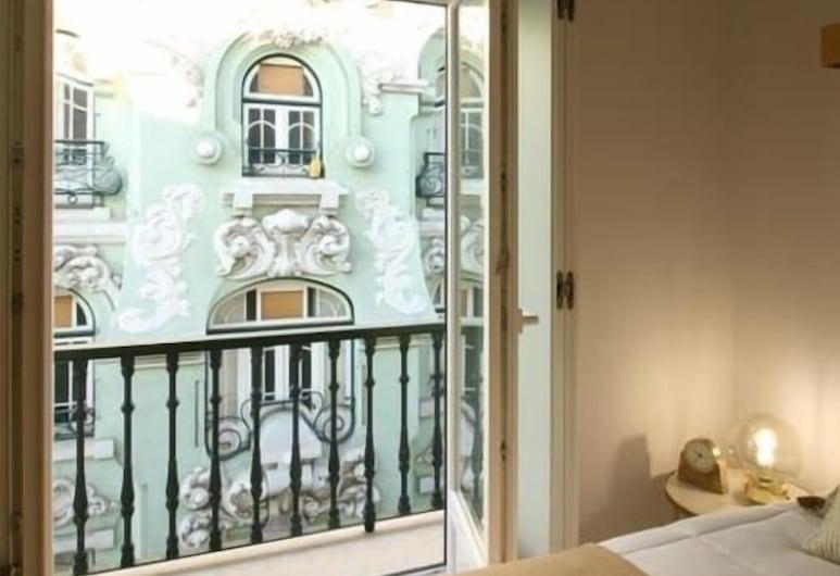 Stylish Baixa Collection Apartment, Lissabon, Værelse