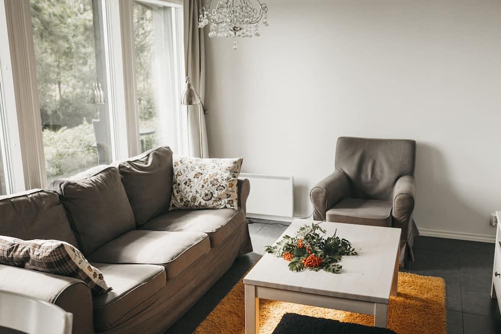 Superior Apartment with Sauna - 客廳
