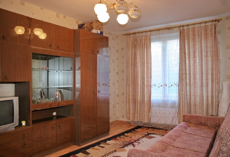 Brusnika Apartment Kuzminki, Moscow, Apartment, Living Area