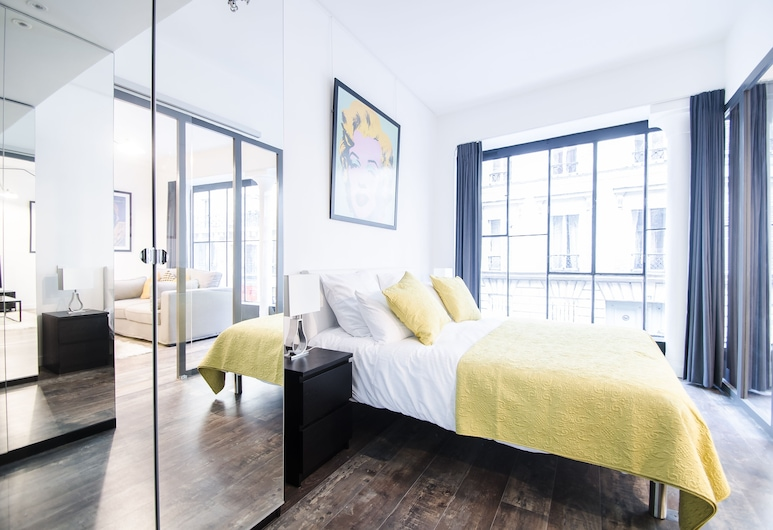 Dreamyflat - Center of paris, Paryż, Apartament, Pokój