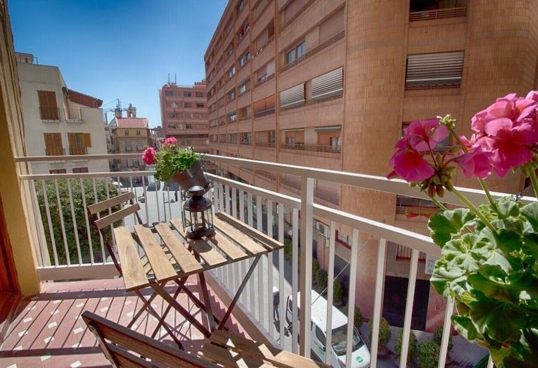 Apartamento Rivera 2, Alikante, Dzīvokļnumurs, viena guļamistaba, balkons, Balkons