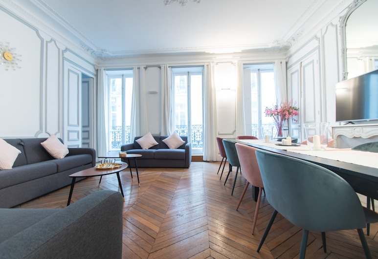 Dreamyflat - Champs Elysées, Paris, Apartment, Living Area
